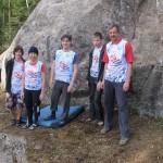 Команда ЧГ на 25 скальном фестивале в Карелии